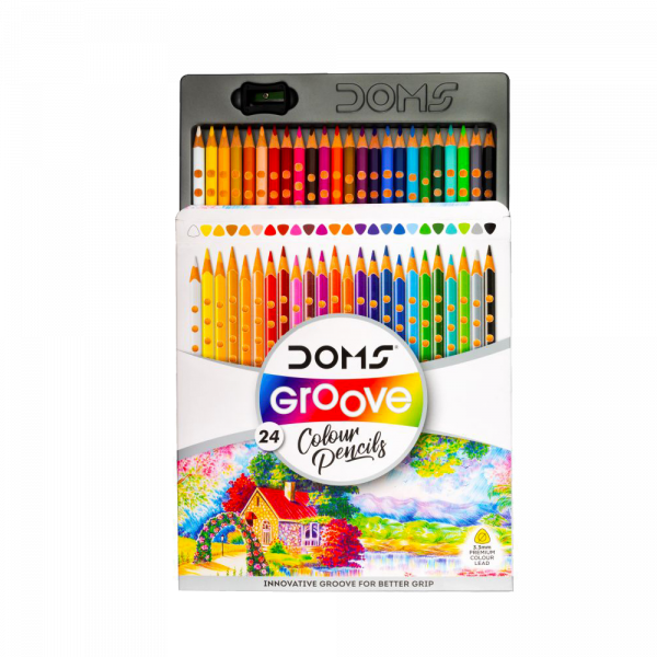 Groove Colour Pencil 24 Shades for Kanjak Gifts
