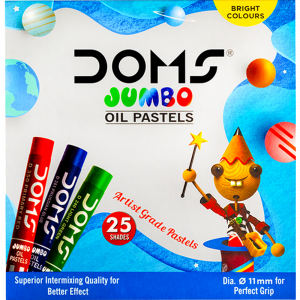 Jumbo Oil Pastels 25 Shades for Kanjak Gift