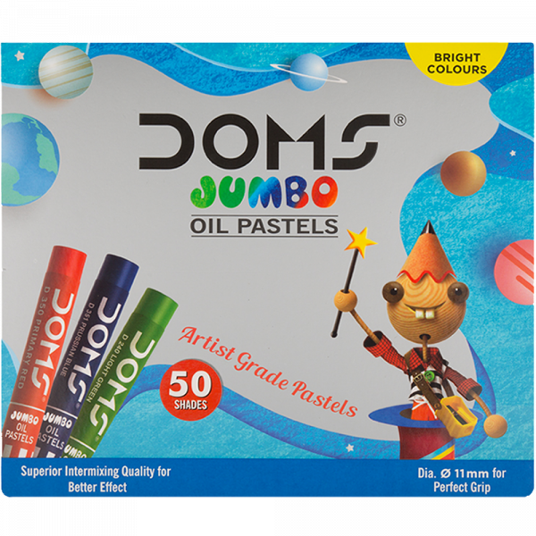 Jumbo Oil Pastels 50 Shades for Kanjak Gifts