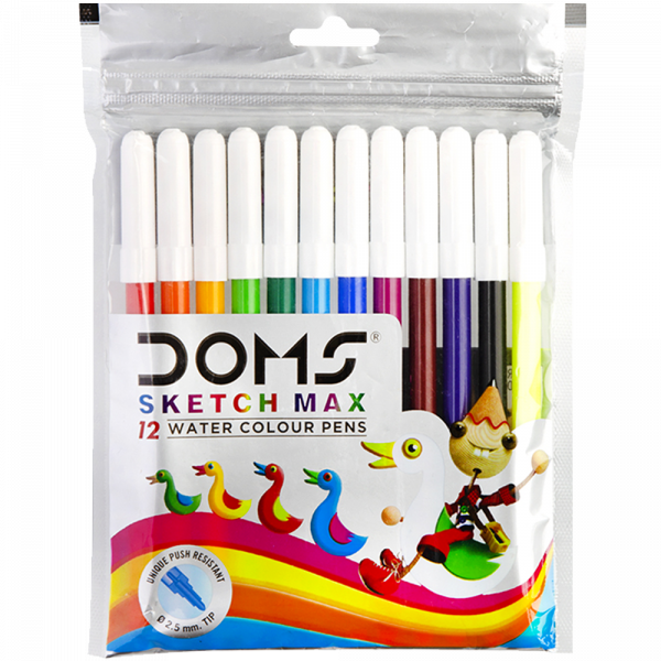 Water Colour Pen 12 Shades for Kanjak Gift