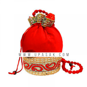 Fancy Lace Work Potli Bag