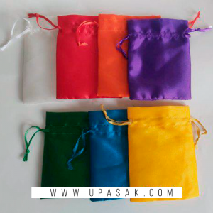 Plain Silk Potli Bag