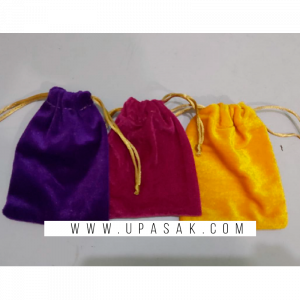Plain Velvet Potli Bag