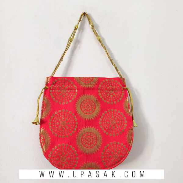Printed Potli Bag