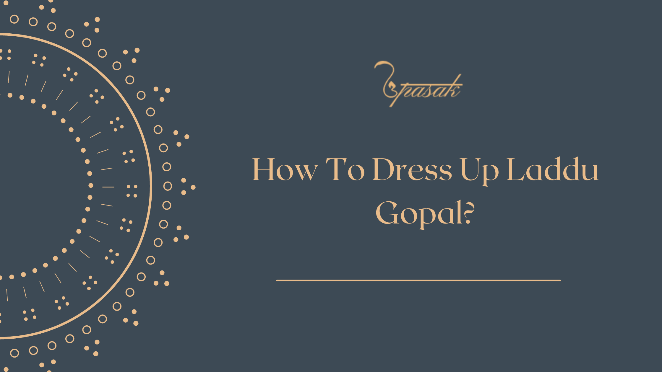 How To Dress How To Dress Up Laddu Gopal